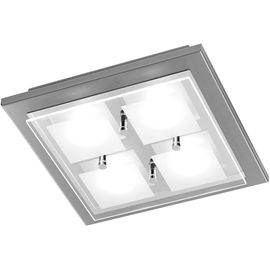 PLAF. Domino LED, nickel mat, 4x4.5W