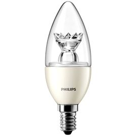 Philips Kerze LED 40W(6W)E14 dim.klar ww