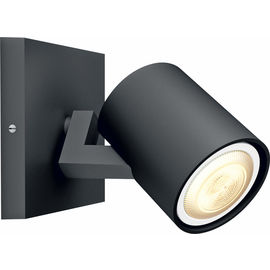 Spot Philips Runner schwarz GU10 LED