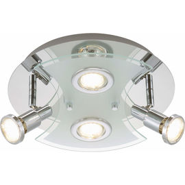 PLAF Splash cromo 4x3W LED