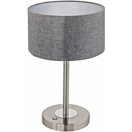 EGLO lampe de table gris ROMAO
