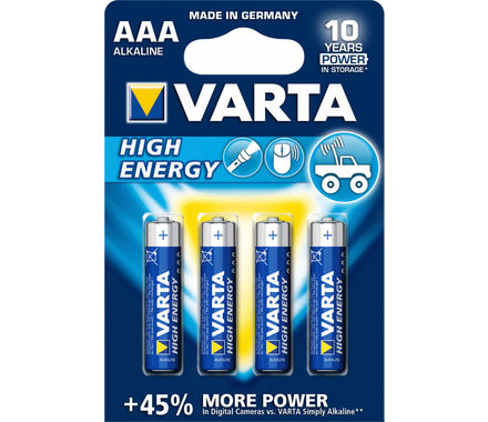 Set di batterie Varta