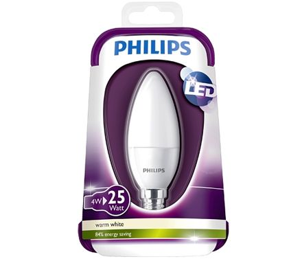 Philips Boug.LED 25W(3W)E14 n.d. mat bc