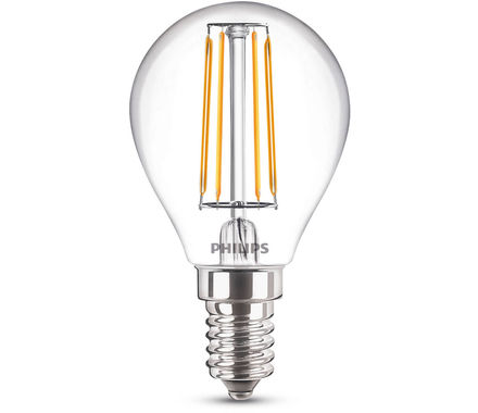 Philips Filament LED40W E14 P45 cb