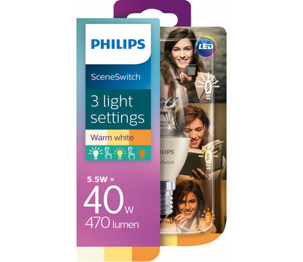Philips LED SceneSwitch Kerze 40W E14