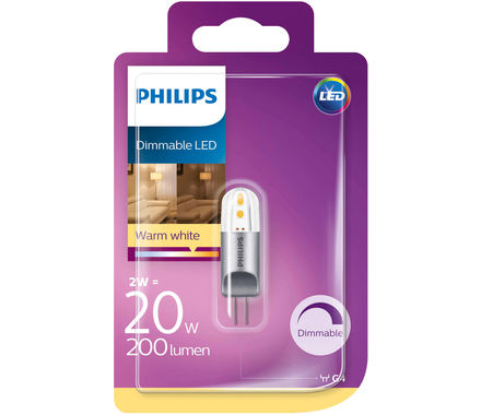 Philips Capsule LED 20W G4 réglable cb