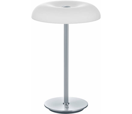 LDT Vanity nickel verre blanc 24W LED
