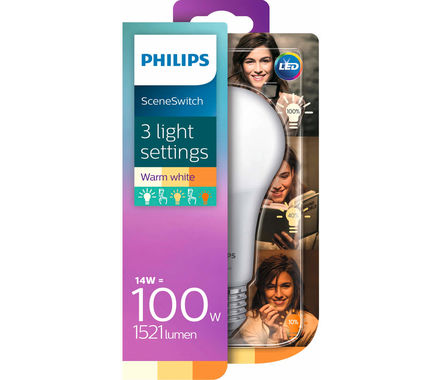 Philips LED SceneSwitch 14W (100W) E27