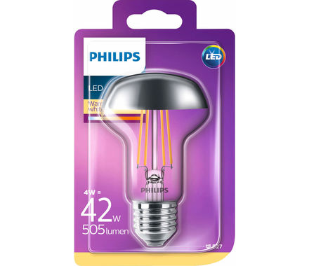 Philips Amp. à tête miroir LED 4W(42W)