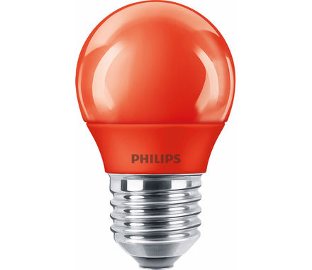 Philips Sphéri. LED 3.1W (15W) E27 rouge