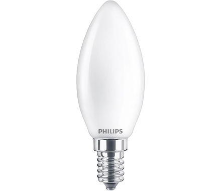 Philips LED Kerze 4.3W (40W) E14 matt Duopack