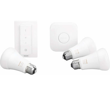 Philips Hue 3er Set 9W E27 LED
