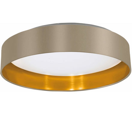 PLAF Maserlo taupe-d'or 16W LED