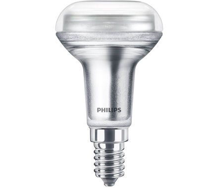 Philips LED Rifl.CLA1.4W(25W)R50 E14 36°