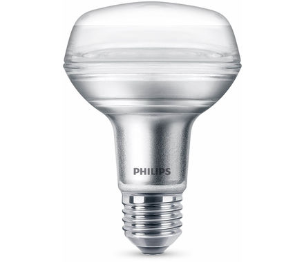 Philips LED Rifl.CLA4W(60W)R80 E27 36°