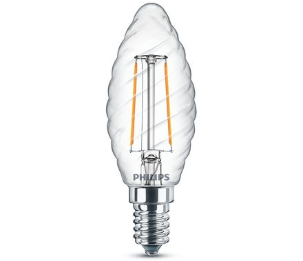 Philips LED Kerze E14 (2W) 25W