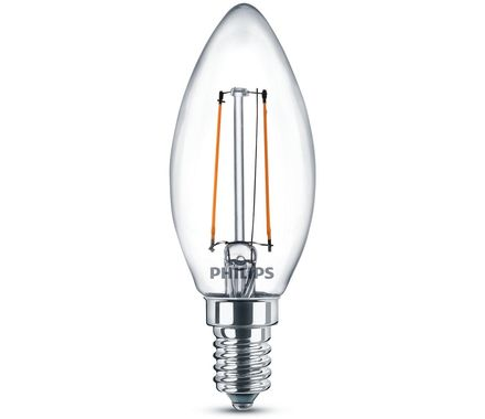 Philips LED Bougie E14 (2W) 25W Duo