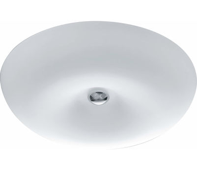 DL Vanity Nickel Glas weiss 45W LED