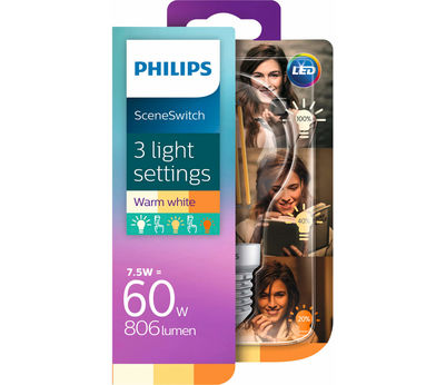Philips SceneSwitch LED 7.5W(60W) E27