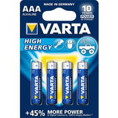Varta High Energy AAA/LR03 4PC