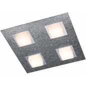 PLAF. Basic aluminium 4x4.1W LED