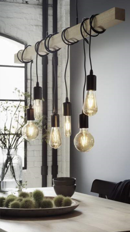 Lampen im Industrial-Look